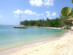 The Beach at Discovery Bay, Hole Town, West Coast of Barbados.